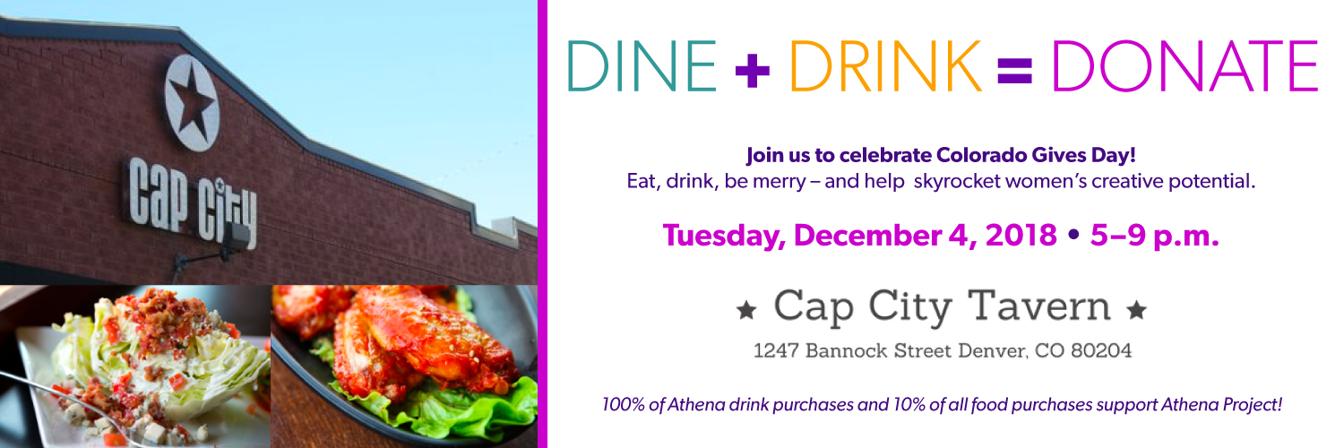 Dine + Drink = Donate