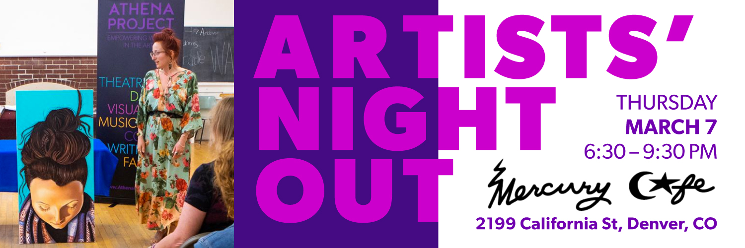 Artists' Night Out Web Banner